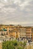 Piazza di Spagna, Rome, Italie Photos stock