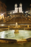 Piazza di Spagna, Rome, Italy Stock Photography