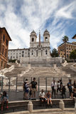 Piazza di Spagna, Rome Italy Royalty Free Stock Photos