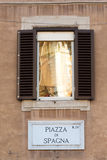 Piazza di Spagna Royalty Free Stock Photo