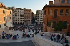 Piazza di Spagna, spanische Schritte, Stadt, Stadt, Marktplatz, Nachbarschaft Stockfotos