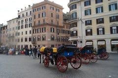Piazza di Spagna Stock Photos