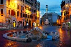 Piazza di Spagna Stock Images