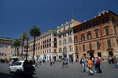 Piazza Di Spagna w Rzym Zdjęcie Royalty Free
