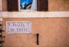Piazza di Trivi Stockbilder
