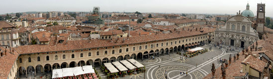 Piazza Ducale Stock Photo