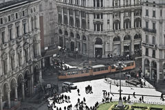 Piazza Duomo imagens de stock