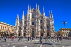 Piazza Duomo facade Stock Photos