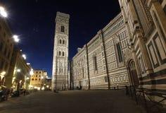 Piazza duomo, Florence Stock Afbeeldingen
