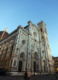 Piazza duomo, Florence Stock Foto