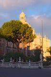 Piazza Duomo lub katedra kwadrat z katedrą Santa Agatha Obraz Royalty Free
