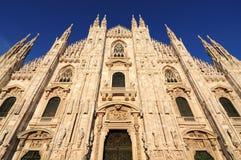 Piazza Duomo Milaan, Italië Royalty-vrije Stock Afbeeldingen