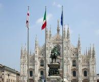 Piazza Duomo, Milan Stock Photography