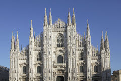 Piazza duomo in Milan, Italy Stock Image
