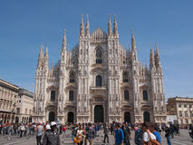 Piazza Duomo Milan Stock Image