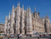 Piazza Duomo Milan Royalty Free Stock Image
