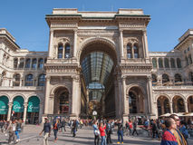 Piazza Duomo Milan Royalty Free Stock Photo