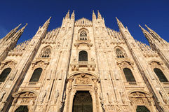 Piazza Duomo a Milano, Italy Royalty Free Stock Images