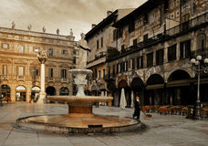 PIAZZA ERBE Stock Images