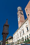 Piazza Erbe in Verona Royalty Free Stock Photo