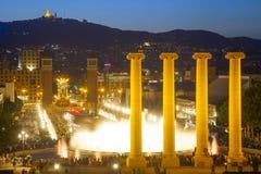 Piazza Espana in Barcelona Stockfotografie
