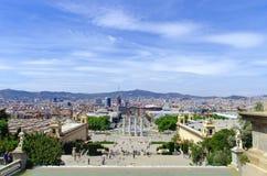Piazza Espana, Barcelona Lizenzfreie Stockfotografie