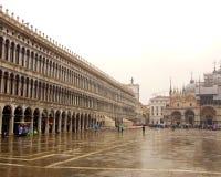 Piazza för St Mark's från ovannämnda Venedig royaltyfri bild