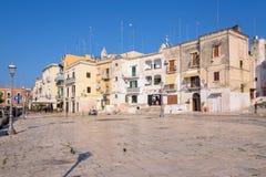 Piazza Ferrarese nel centro di Bari Fotografie Stock Libere da Diritti