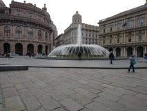 Piazza ferrari Royaltyfri Foto