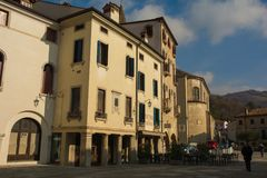 Piazza Flaminio Royalty Free Stock Images