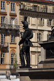 Piazza G. Bodoni, Torino, Italy Stock Photo
