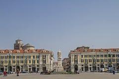Piazza Galimberti in Cuneo Royalty Free Stock Image