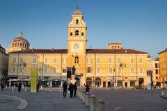 Piazza Garibaldi and Goverment Stock Image