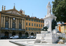 Piazza Garibaldi in Nice, France Stock Photos