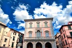 Piazza Garibaldi, Pisa Royalty Free Stock Photos
