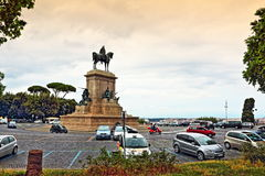 Piazza Garibaldi Rome city skyline Italy Royalty Free Stock Photography
