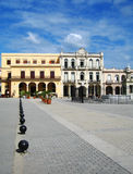 Piazza in Havana Stock Photography