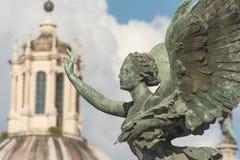 Piazza het standbeeld van Venezia Royalty-vrije Stock Afbeelding