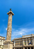 Piazza het Vierkant van Colonna in Rome Royalty-vrije Stock Afbeeldingen
