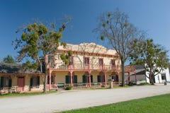 Piazza-historischer Bezirk San- JuanBautista Lizenzfreies Stockfoto