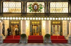 Piazza-Hotel Lizenzfreies Stockbild
