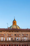 Piazza Maggiore à Bologna - Emilia Romagna - Italie Image libre de droits