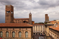 Piazza Maggiore, Bologna Royalty Free Stock Images
