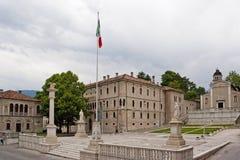 Piazza Maggiore in Feltre Royalty Free Stock Photo