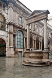 Piazza Mercanti Milan Stock Photography