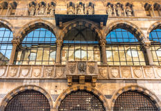 Piazza Mercanti, Milan, Lombardy, Northern Italy Stock Photography