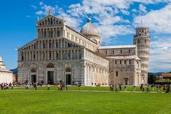 Piazza Miracoli katedra Fotografia Royalty Free