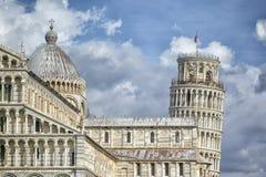 Piazza Miracoli Pisa Obrazy Royalty Free