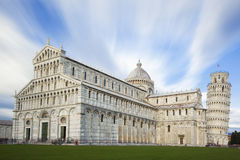 Piazza Miracoli in Pisa Stock Photography