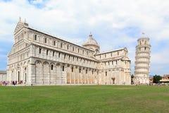 Piazza Miracoli w Pisa Zdjęcie Royalty Free